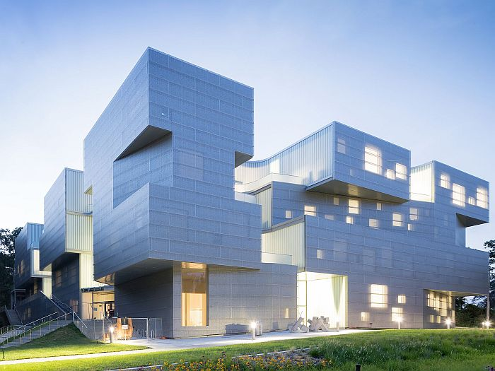 Steven Holl Architects: Visual Arts Building, University Of Iowa