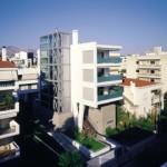 AESOPOS ARCHITECTURE: Bloc de locuinte din Nea Filothei, Athena, 2003
