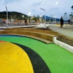 COLL-LECLERC: Parcul TMB - un acoperis ecologic situat deasupra noului depou de autobuze Horta din Barcelona