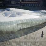 Chanel Mobile Art. Pavilionul temporar conceput de catre Zaha Hadid la Paris