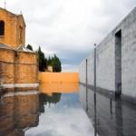 Curtea celor patru evanghelisti. Extinderea unui cimitir de pe o insula intre Venetia si Murano