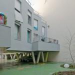 EMMANUEL COMBAREL DOMINIQUE MAREC ARCHITECTES: Locuinte sociale pe strada Louis Blanc, Paris