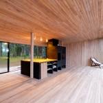 Kamp Arhitektid: Bucatarie de vara in padure