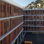 N+B Architectes, Elodie Nourrigat & Jacques Brion: O axa in peiaj