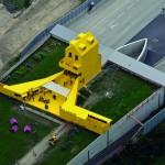 Bellevue: casa galbena. O constructie experimentala în spatiul public, Linz, Austria