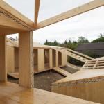 Elii Arquitectos: 7 module pentru o structura de lemn pliata