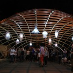 Pavilionul Street Delivery de la Iasi, cea de a doua structura de lemn gridshell din România