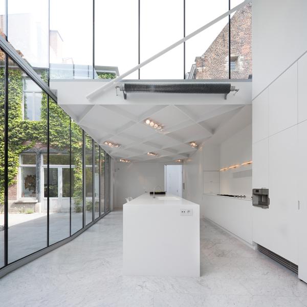 360 Architecten: extinderea vilei Den Anker, Leuven
