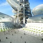 """""""Floating Observatories"""", proiect DSBA + Upgrade Studio, câștigător la concursul Taiwan Tower"""