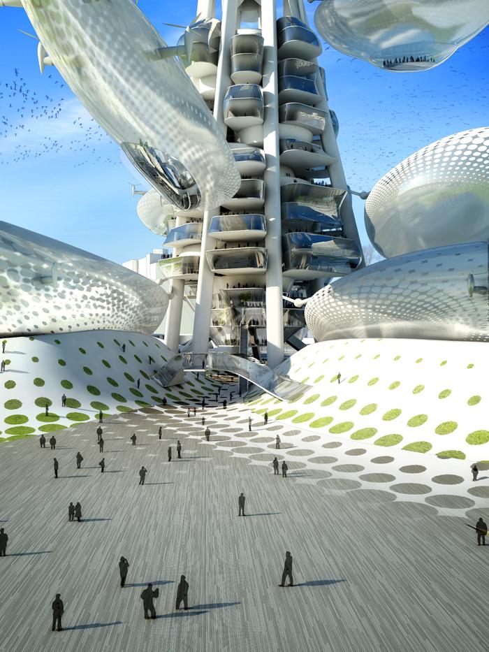 """""""Floating Observatories"""", proiectul câştigător propus de DSBA + Upgrade Studio pentru concursul Taiwan Tower în Taichung"""