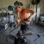 Prodid și Pro Patrimonio: realizarea unei stații de autobuz din fier forjat, Țibănești