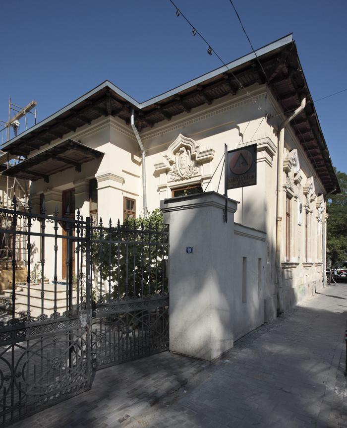 Casa Mincu (sediul OAR): clădire salvată in extremis și spațiul expoziției