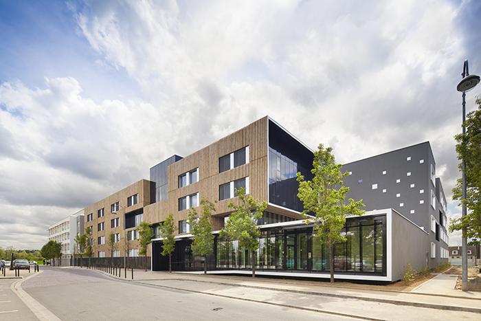 LE PENHUEL architectes - logements - poissy sous carrieres - 2013