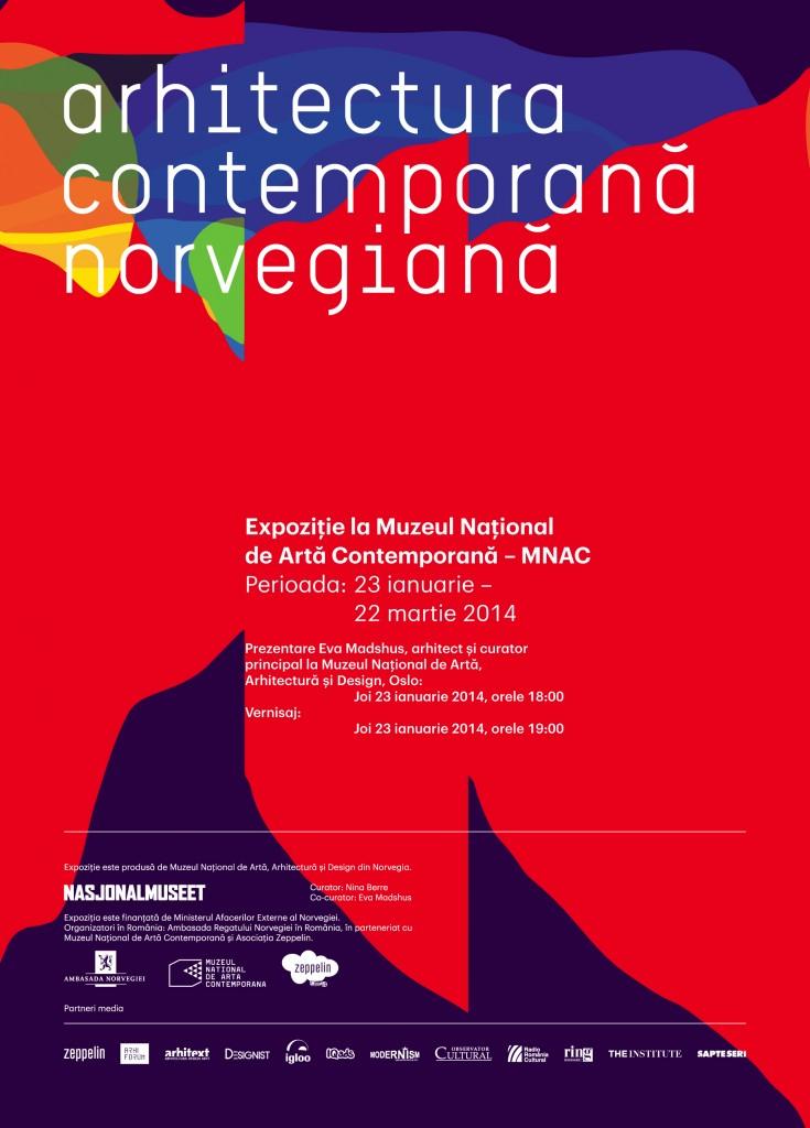 afis web Arhitectura contemporana norvegiana
