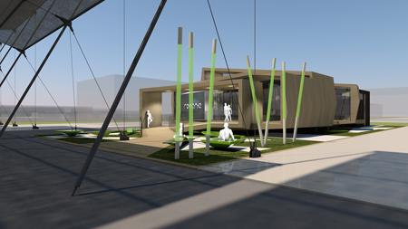 Expo Milano 2015 - pavilionul Romaniei - mentiune ARCSETT