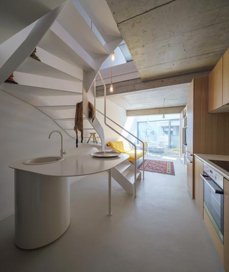 ADN Birou de Arhitectura -bloc de apartamente pe str. Dogarilor
