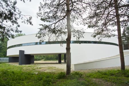 Carmen Tanase -Pavilion si incinta - sediul Directiei Silvice Bacau