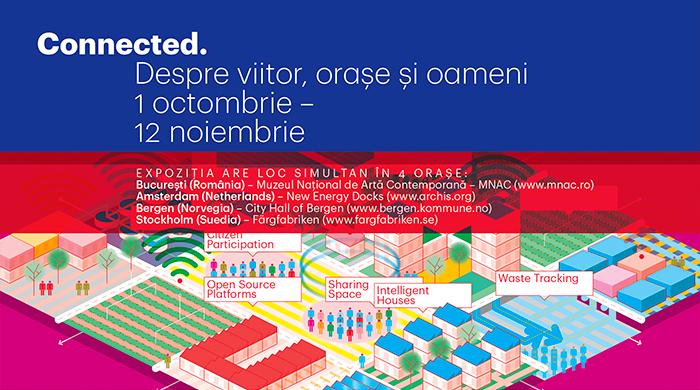 Connected. Despre viitor, orașe și oameni  / expoziție