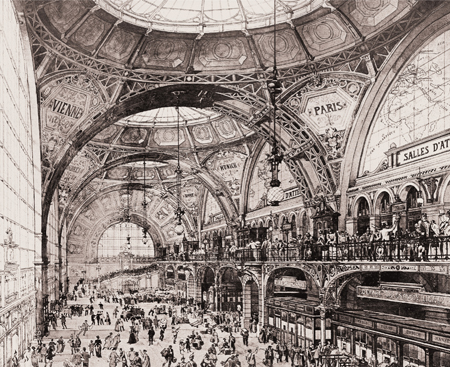 CFR - concurs  Gara Centrala Bucuresti - 1892 - 1893 - premiul I