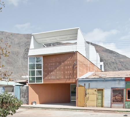 Chile -2 -biblioteca din Taltal