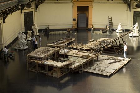 Chile - 5- adapost in muzeu
