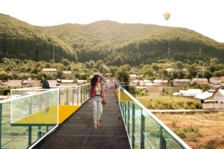 Anina 2015 _ punct de belvedere Traseul Rosu