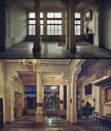 Casa Costa-Foru - Salonul principal, inaccesibil familiei în perioada comunistă