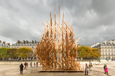Kengo Kuma- Yure -Paris - foto Stefan_Tuchila