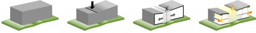Tecto arhitectura - casa pasiva -Suceava -concept