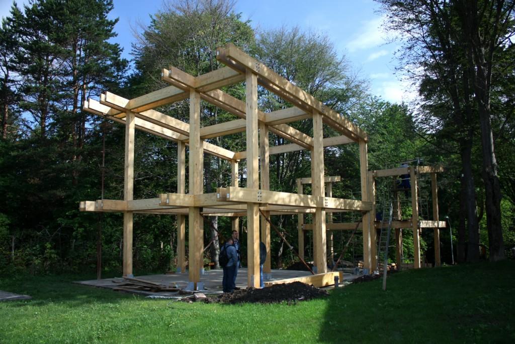 Tecto arhitectura - casa pasiva -Suceava -structura
