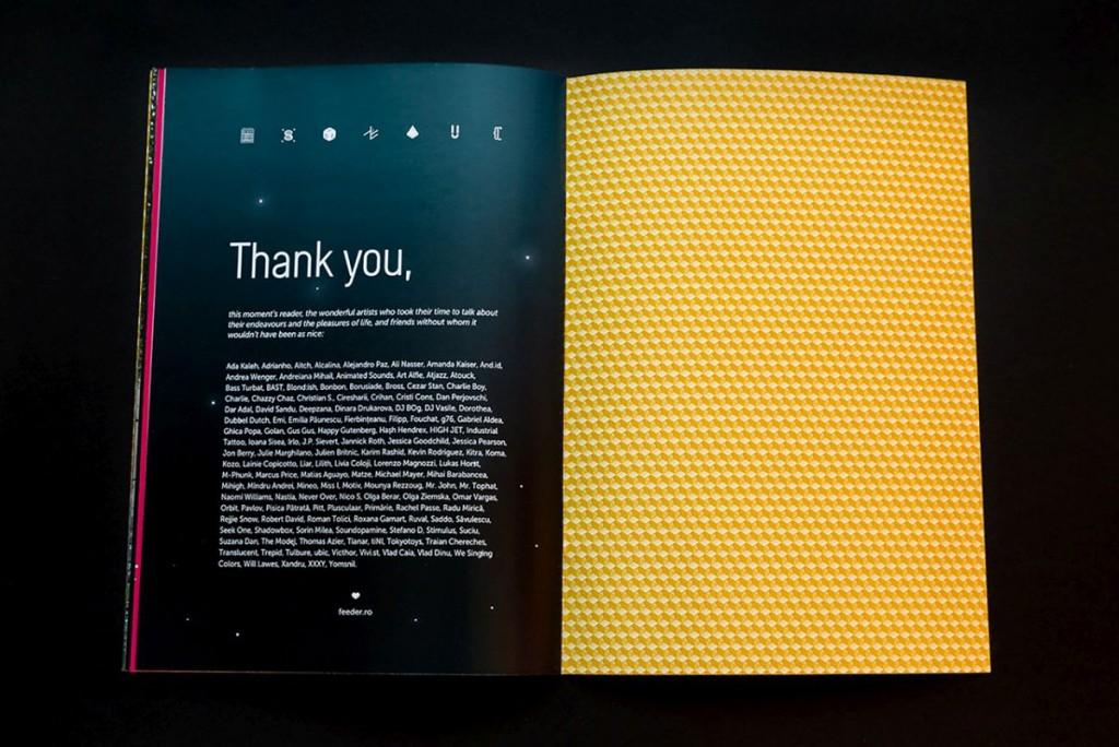 feeder insider booklet Thank you