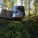 Articolul săptămânii: Cutiile dintre mesteceni – Juvet Landscape Hotel
