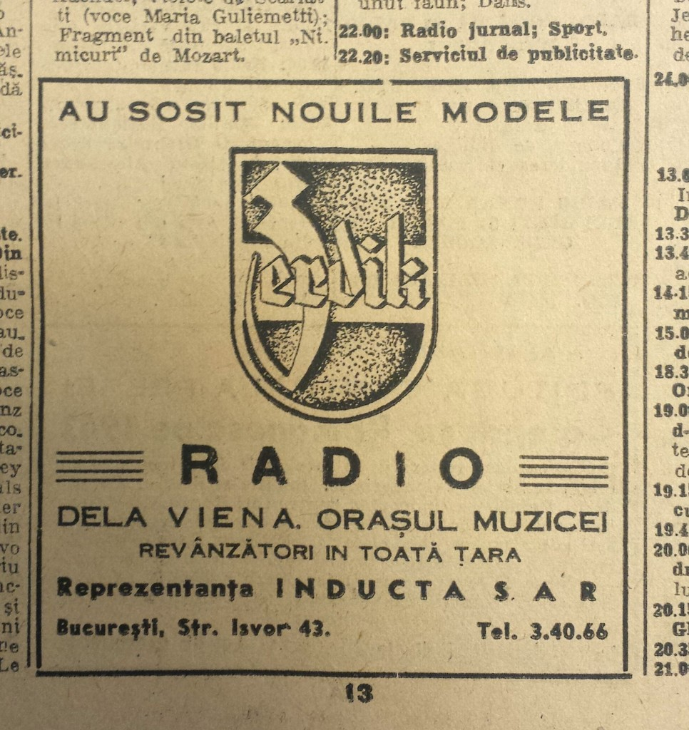 radio romania 1943 ianuarie 9