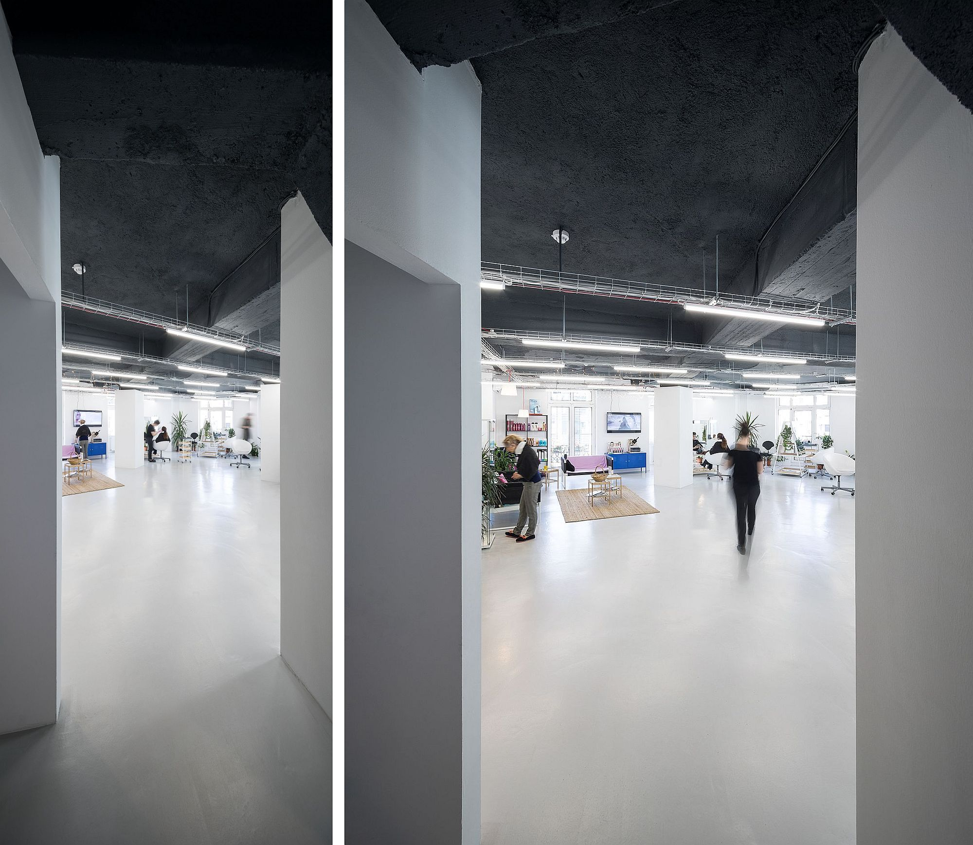 Amenajare Studio 55 Un Salon De Coafură în Clădirea Union