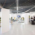 Articolul săptămânii: Amenajare Studio 55. Un salon de coafură în clădirea Union, București