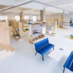 Articolul săptămânii: MATER. Biblioteca cu mii de materiale pentru arhitectură și construcții, în București