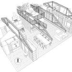 Articolul săptămânii: Curte sub un copac. Transformarea unui loft dintr-o clădire de patrimoniu, Londra