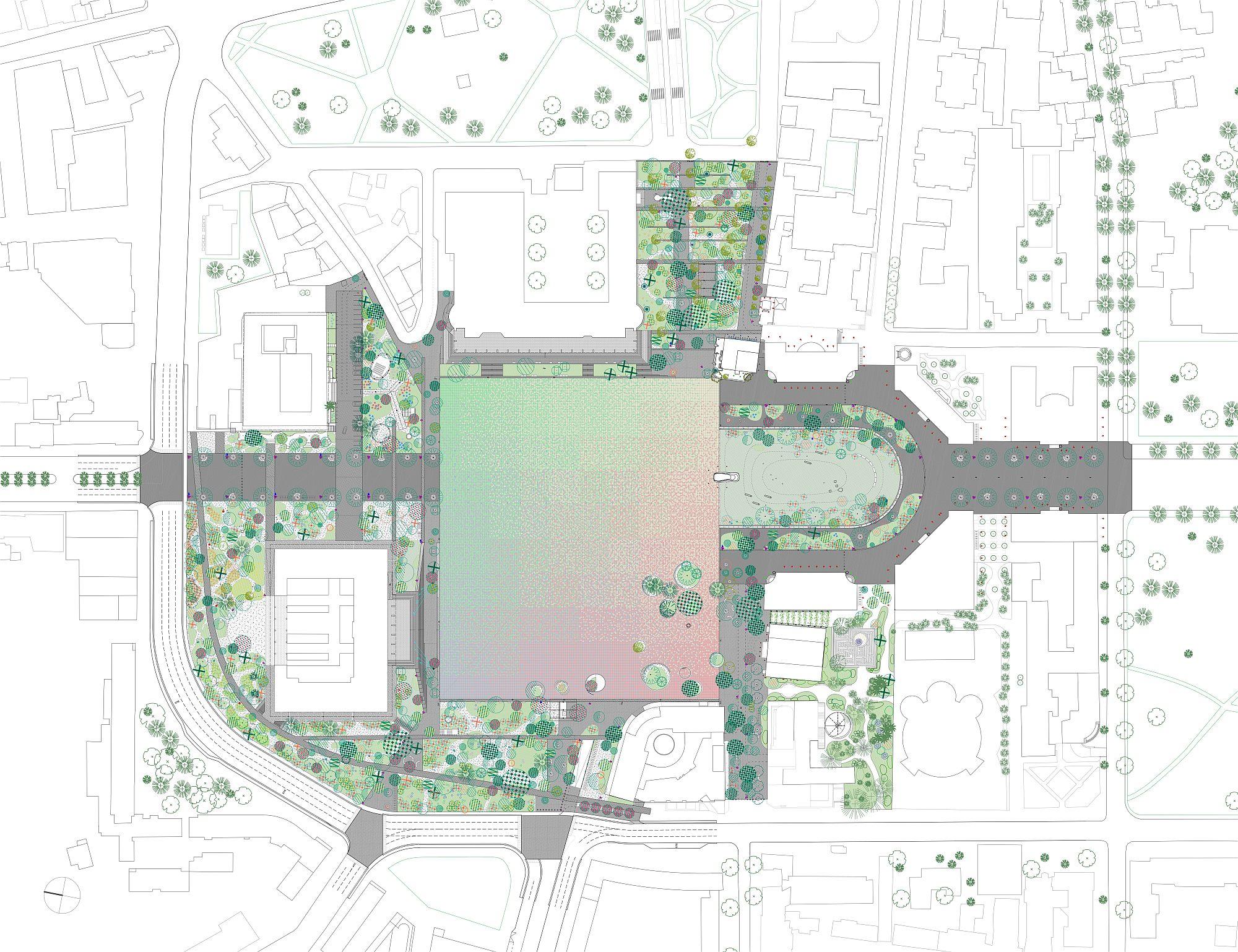 Plan general – Piata Skanderberg – Tirana