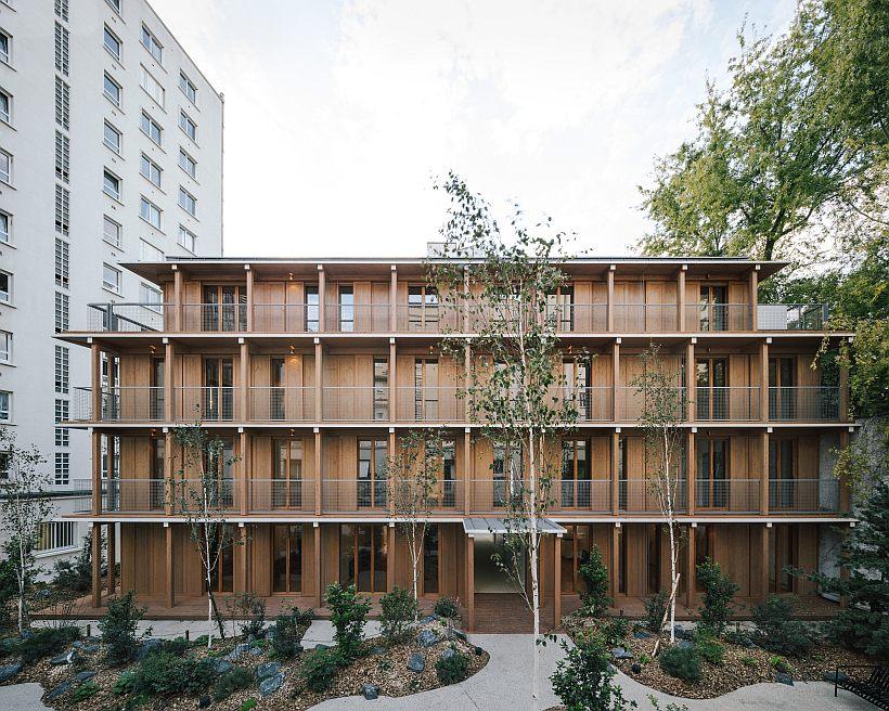 MARS Architectes – Logements – Paris 12ème © Charly Broyez