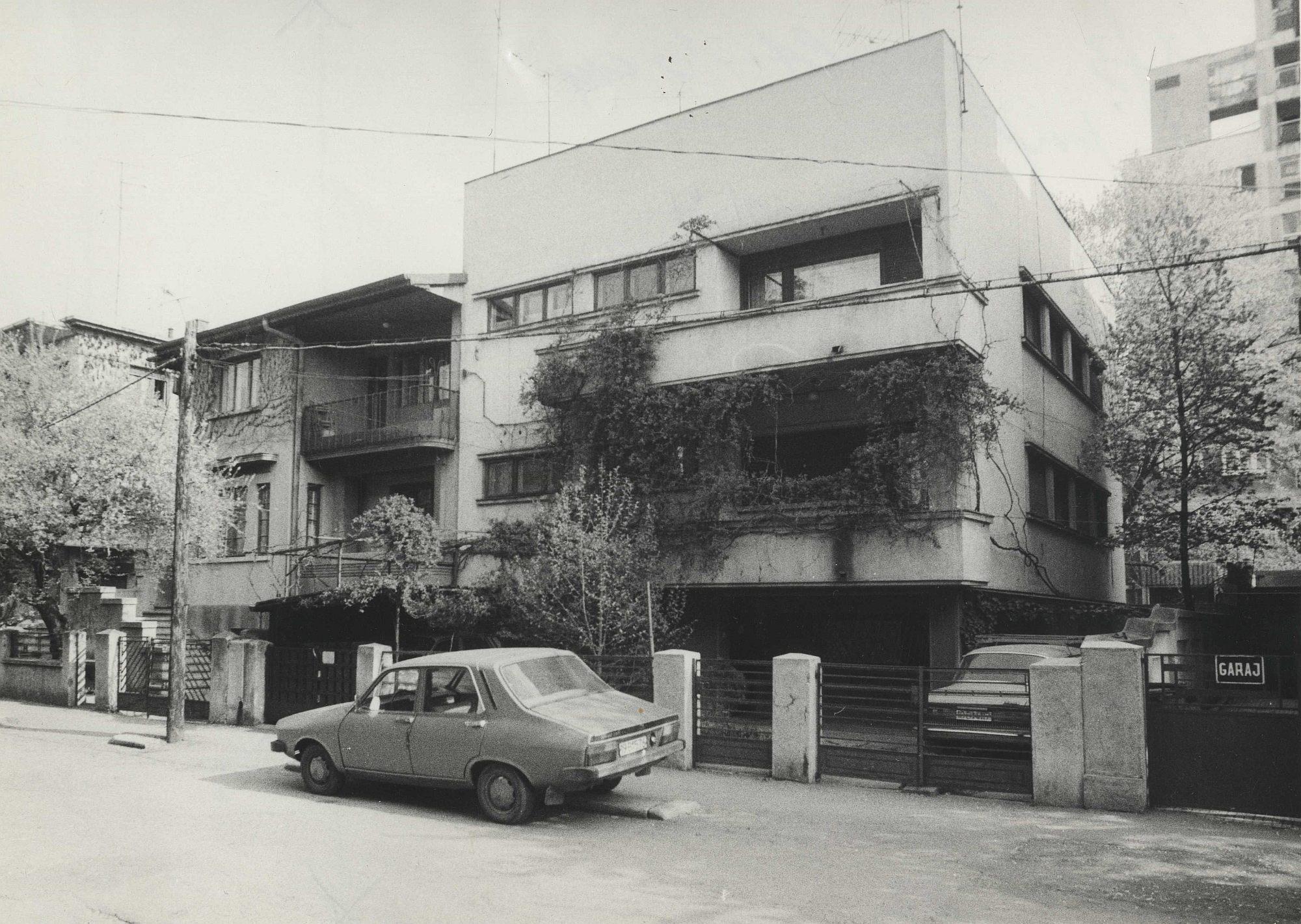 Vila_cu_2_apartamente_ Horia_Creanga_casa_Cristea_Mateescu_str_Theodor_Iliescu_ Bucuresti_1935